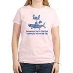 Somedays You're The Cat Women's Light T-Shirt