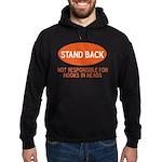 Stand Back Hoodie (dark)