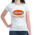 Stand Back Jr. Ringer T-Shirt