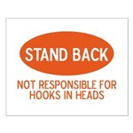 Stand Back Small Poster