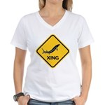 Sturgeon Crossing Women's V-Neck T-Shirt