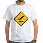 Sturgeon Crossing White T-Shirt