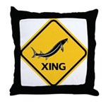Sturgeon Crossing Throw Pillow