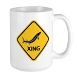 Sturgeon Crossing Large Mug