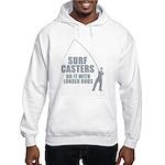 Surfcasters Longer Rods Hooded Sweatshirt