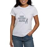Surfcasters Longer Rods Women's T-Shirt