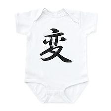 Kanji for Change Infant Bodysuit