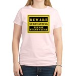 Beware : Surfcasting Women's Light T-Shirt