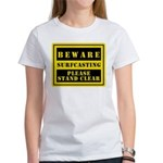 Beware : Surfcasting Women's T-Shirt
