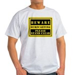 Beware : Surfcasting Light T-Shirt