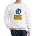 U-Turn Fishing Hook Sweatshirt