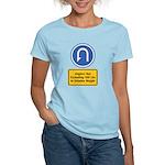U-Turn Fishing Hook Women's Light T-Shirt