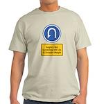 U-Turn Fishing Hook Light T-Shirt