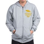 The Way To A Girl's Heart Zip Hoodie