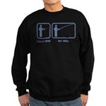 Your Rod / My Rod Sweatshirt (dark)