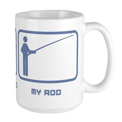 Your Rod / My Rod Large Mug