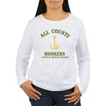 All County Hookers Women's Long Sleeve T-Shirt