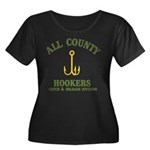 All County Hookers Women's Plus Size Scoop Neck Da