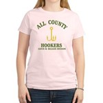 All County Hookers Women's Light T-Shirt