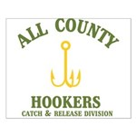 All County Hookers Small Poster