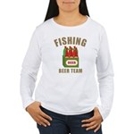 Fishing Beer Team Women's Long Sleeve T-Shirt