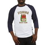 Fishing Beer Team Baseball Jersey