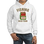 Fishing Beer Team Hooded Sweatshirt