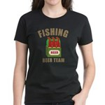 Fishing Beer Team Women's Dark T-Shirt