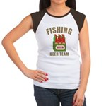 Fishing Beer Team Women's Cap Sleeve T-Shirt