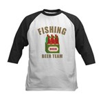 Fishing Beer Team Kids Baseball Jersey