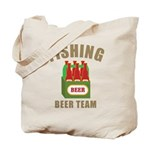 Fishing Beer Team Tote Bag