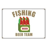 Fishing Beer Team Banner