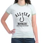 All Sea Hookers Jr. Ringer T-Shirt