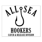 All Sea Hookers Small Poster