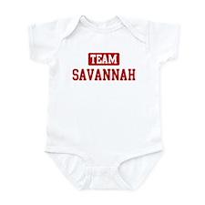 Team Savannah Infant Bodysuit