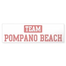 Team Pompano Beach Bumper Sticker (50 pk)