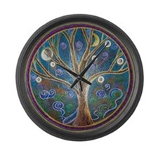 'Tree of Life' - Large Wall Clock