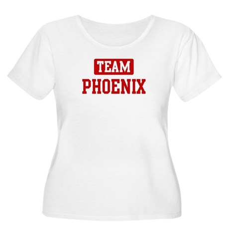 Team Phoenix Women's Plus Size Scoop Neck T-Shirt