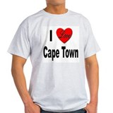 I Love Cape Town (Front) T-Shirt