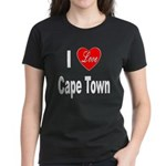 I Love Cape Town (Front) Women's Dark T-Shirt