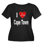 I Love Cape Town (Front) Women's Plus Size Scoop N
