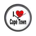 I Love Cape Town Wall Clock