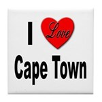I Love Cape Town Tile Coaster