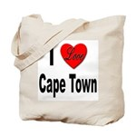 I Love Cape Town Tote Bag