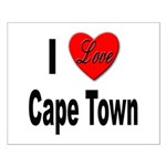 I Love Cape Town Small Poster