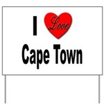 I Love Cape Town Yard Sign