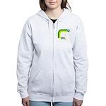 Think Green Earth Rainbow Women's Zip Hoodie