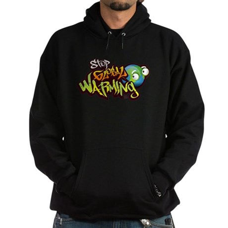 Stop Global Warming - Graffit Hoodie (dark)