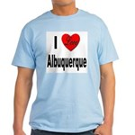 I Love Albuquerque Light T-Shirt