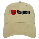 I Love Albuquerque Cap